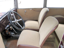 1932 BMW AM4 front seats