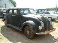 1934 Desoto Airflow front right view