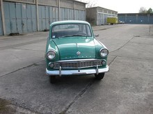 1961 Moskvitch 407 front view