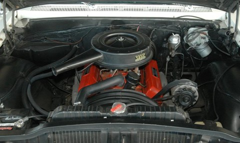 1963 Chevrolet Impala 2dr hdtp white 327 Engine