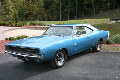 1968 Dodge Hemi Charger Blue Fvl Picture Gallery Motorbase