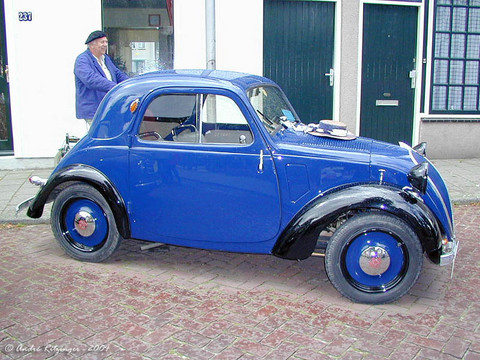 1937 Simca 5 side ritz