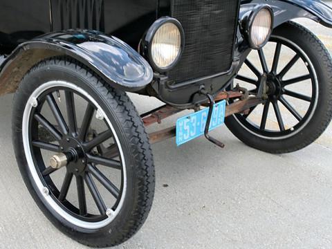 Spoke Wheels Car