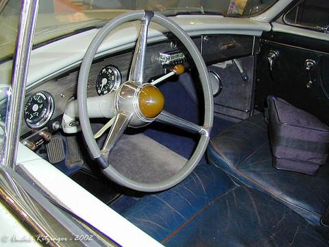 1954 ford comete by facel metallon  interior ritz