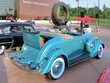 1934 Dodge Convertible Coupe with Rumble Seat Robin Egg Blue rvr (WPC Cruise-In) CL