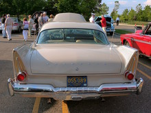 1958 Plymouth Fury with 350 CID Golden Commando Engine Buckskin Beige rv (WPC Cruise-In) CL
