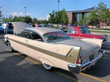 1958 Plymouth Fury with 350 CID Golden Commando Engine Buckskin Beige rvl (WPC Cruise-In) CL