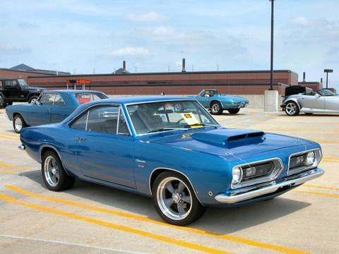 Dodge barracuda 1968