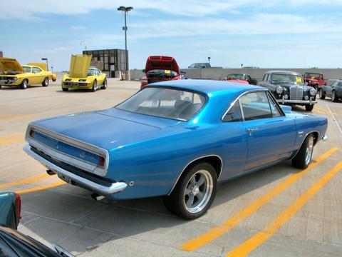1968 Plymouth Barracuda Notch Back Hardtop Electric Blue