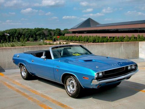 1970 Dodge Challenger R T Convertible 383 Magnum Bright