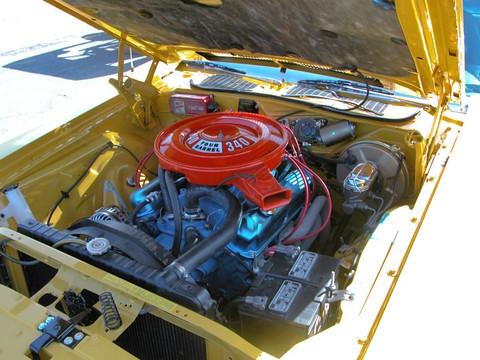 Dodge Challenger 2007 >> 1972 Dodge Challenger Rallye 340 Engine Top Banana (2005 ...