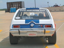 1972 AMC Gremlin X Red, White, & Blue rv (2004 WW@WD DCTC) F