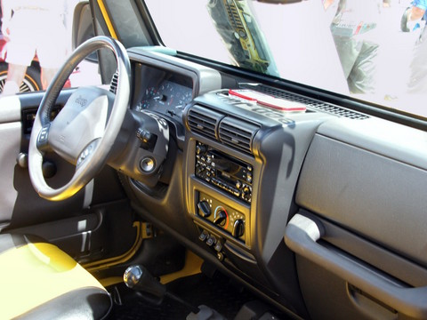 Nice 2000 Jeep Wrangler Renegade Aftermarket Accessories Instrument Panel Solar  Yellow Svr (2005 WW@WD PROC) N
