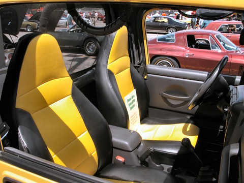 2000 Jeep Wrangler Renegade W Aftermarket Accessories Custom Vinyl Seats  Solar Yellow(2005 WW@WD PROC) N