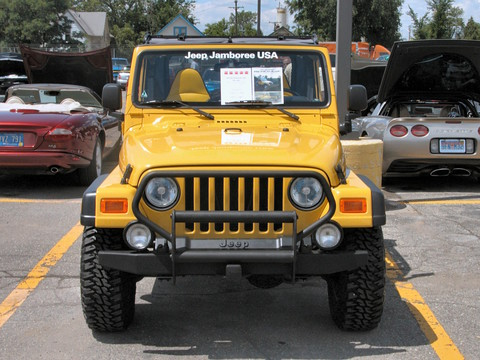 2000 Jeep Wrangler Renegade With Aftermarket Accessories Solar Yellow Fv 2  (2005 WW@WD PROC) N