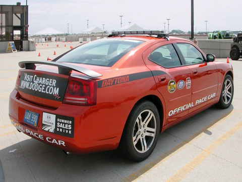 2006 Dodge Charger HEMI R-T Daytona 'Official Pace Car' Go ManGo! rvr (2005 WW@WD DCTC) N