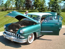 1953 DeSoto Powermaster Six 4-Door Sedan Green fvl (2004 CEMA) F