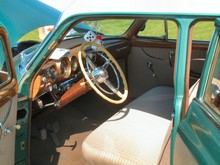 1953 DeSoto Powermaster Six 4-Door Sedan Interior & Instrument Panel (2004 CEMA) F