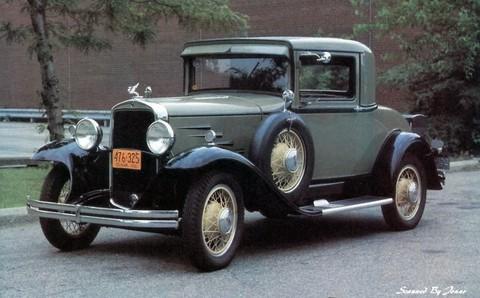 1930 Durant 6-14 De Luxe Sport Coupe