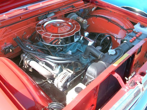 1965 Plymouth Sport Fury 2 Door Hardtop Commando 426