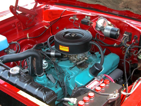 1966 Dodge Charger 383 Engine fvl Bright Red (2005 CEMA) DSCN5822 - Picture Gallery - Motorbase