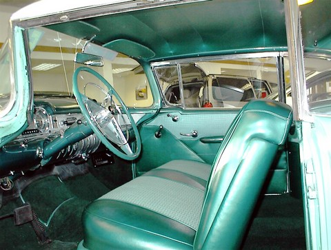 1955 Buick Century Riviera Coupe Litegreen Amp White Interior Mx Picture Gallery Motorbase