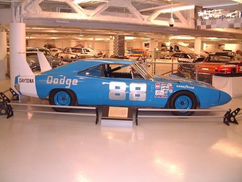1969 Dodge Charger Daytona NASCAR Race Car #88 Corporate