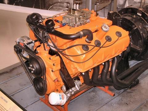 1966 426 Nascar Hemi Engine Deep Dish Intake Manifold W