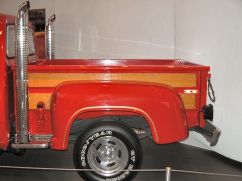 1978 Dodge Lil Red Express Truck Bed Oak Trim Amp Chrome