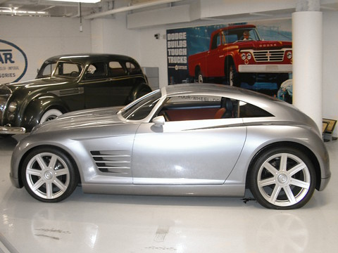 2001 Chrysler Crossfire Coupe Concept Car Svl Wpc Museum 2 N