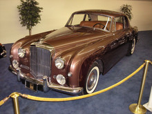 1956 Bentley S1 Continental Park Ward Coupe fvl