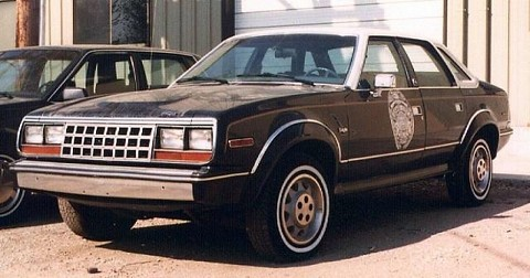 Amc-Eagle-Retired-Police-Car