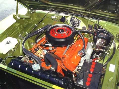 1969 Dodge Charger 500 440 Magnum Engine Picture Gallery