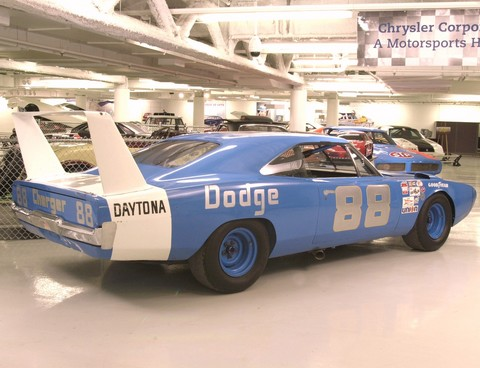 Dodge Challenger 2007 >> 1969 Dodge Charger Daytona NASCAR Race Car Blue rvr (Chrysler Group Photo Imaging) - Picture ...