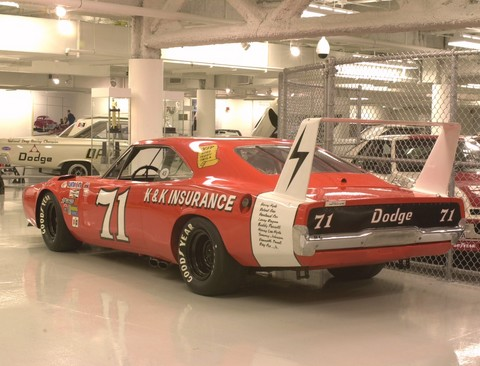 1969 Dodge Charger Daytona Nascar Race Car Orange Rvl