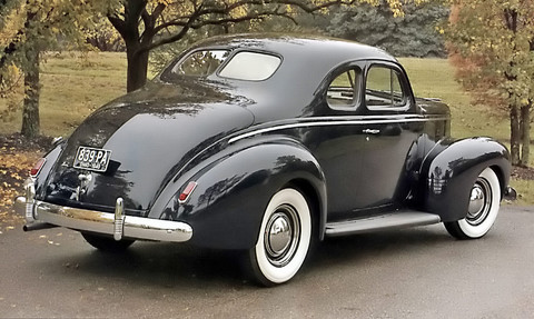 1940 Nash Ambassador Business Coupe Rvr Picture Gallery