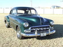 1952 Chevrolet Deluxe Coupe Grn 06