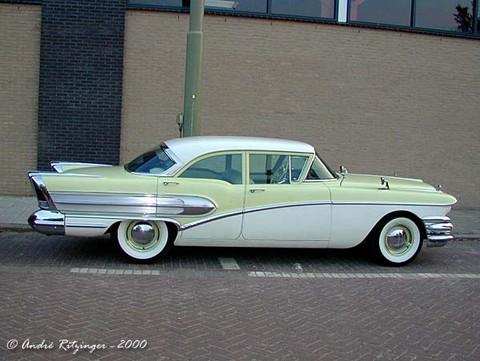 4 Door Sedan >> 1958 Buick Special 4-door sedan-yellow&white-sVr ritz ...