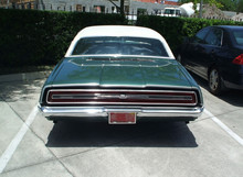 68 Ford Thunderbird rear