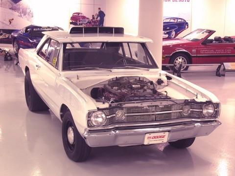 1968 Dodge Dart 426 Hemi Drag Race Car White Fvl Chrysler Group