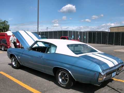 1970 Chevrolet Chevelle Ss 396 Hardtop Astro Blue Metallic