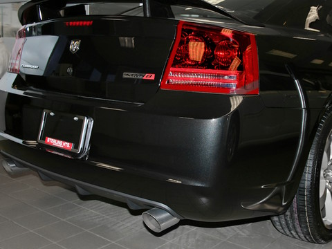 2006 dodge charger hemi r t srt8 6 1l 425 hp deck badge exhaust brilliant black sterling. Black Bedroom Furniture Sets. Home Design Ideas