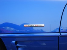 1996 Corvette Grand Sport conv badge 5-23-07