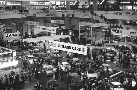 1976 Earls Court London Motor Show B Amp W Picture Gallery
