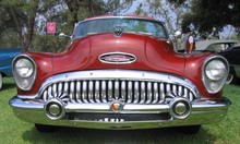 1953 Buick Roadmaster Skylark - red - fv