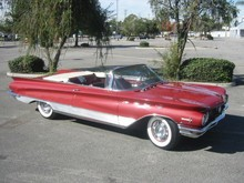 1960 Buick Electra 225 Conv-red-fVr-td mx