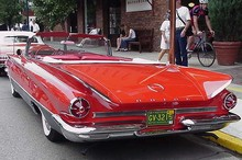 1960 Buick Electra 225 Conv-red-rV mx