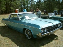 1964 Oldsmobile Dynamic 88 Holiday Htp Sedan 04