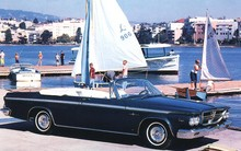 1964 Chrysler 300 Convertible f3q