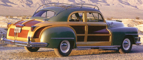 1946 Chrysler C-38 Windsor Town & Country Brougham Coupe r3q